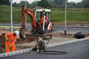 1. Installation of traffic signal ducting at Chester Road gyratory