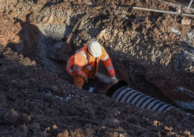 Drainage installation (75)